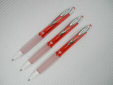 (6 Pens) Uni-Ball Signo  UMN-207F 0.7mm Fine gel ink roller ball pen Red ink