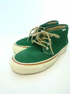 VANS  Chucker 28cm Grn Suede Green Size 28cm Fashion sneakers 1498 From Japan
