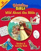 Wild about the Bible Sticker and Activity Book (Paperback or Softback)