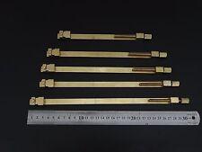 Violin Plates Repair Clamps Maintenance tools Brass Material 1 Set(5 pcs)