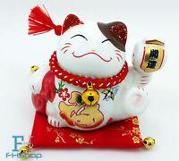 Maneki Neko Feng Shui Lucky Cat Fortune Decoration
