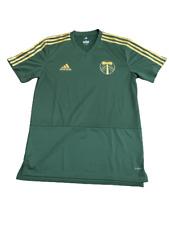 Adidas Mls Portland Timbers Green Team Jersey Green/Gold 564ta