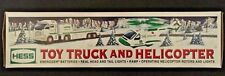 Hess Toy Truck 2006...Helicopter...Operating Lights, Rotors...Collectors ...New