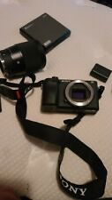 Sony Alpha A6400 24.2MP Digital Camera - Black w/Sigma 16mm f/1.4 Quartz nd16/pl