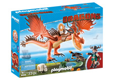 Playmobil 9458 Dreamworks Dragons Snotlout & Hookfang MIB / New