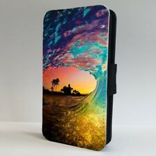 Rip Curl Wave Ocean Surfing Sunset FLIP PHONE CASE COVER for IPHONE SAMSUNG
