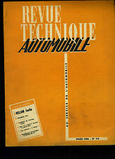 (C11)REVUE TECHNIQUE AUTOMOBILE VELAM ISETTA / TRIUMPH TR2