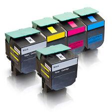 5 Toner für Lexmark C544DN X543DN X544DN X544N X546DTN C540N C543DN
