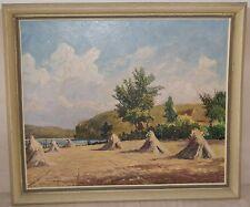 Ewald Oesinghaus Kunst Original Ölgemälde Herbstlandschaft Ölbild
