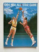 1984 NBA Basketball All-Star Game Program at McNichols Sports Arena (Magic-Bird)