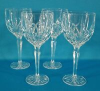 Marquis Waterford Brookside All Purpose Glasse Set of 4 Germany 8 3/4""