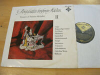 LP Various Schatzkästlein berühmter Melodien II  Vinyl Telefunken BLE 14209