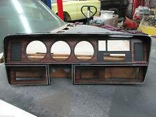 1984-87 Dodge Ram Truck W/Grain Instr Clust Face Plate W/Radio WO/AC NOS 4216513