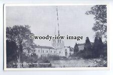 cu2498 - St. Mary's Church in Hemel Hempstead, Herts - postcard
