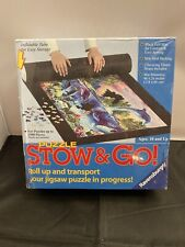 """Ravensburger Puzzle Stow & Go Storage Roll Mat 46""""x26"""" For Puzzles Up To 1500pcs"""