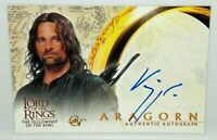 Lord of The Rings Fellowship LOTR FOTR Viggo Mortensen As Aragorn Autograph Card