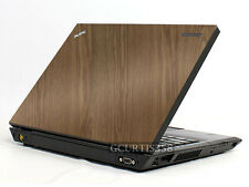 WOOD Vinyl Lid Skin Cover Decal fits IBM Lenovo Thinkpad T450 Laptop