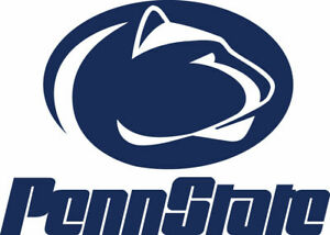 Penn state NIttany Lions cornhole set of 2 decals  Multiple sizes, free shipping