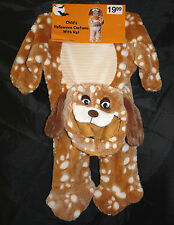 Puppy Dog costume with hat - brown - infant size - HALLOWEEN - NIP