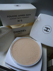 Giftwrapped CHANEL No5 Luxury Bath Powder 150g Rare Early Formula New Sealed Box