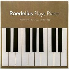 Roedelius - Plays Piano (Bloomsbury Theatre, London, July 28th, 1985) LP