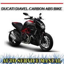 DUCATI DIAVEL CARBON ABS BIKE WORKSHOP SERVICE REPAIR MANUAL ~ DVD
