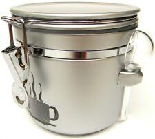 Kaffee Dose Tee Vorratsbehälter Teedose Kaffeedose ANTONIO silber