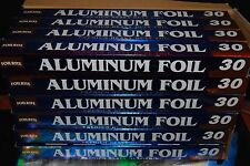 """Lot Of 6 pc Aluminum Foil 30 Sq Ft(6.75 yards x 17.7"""") Free Shipping"""
