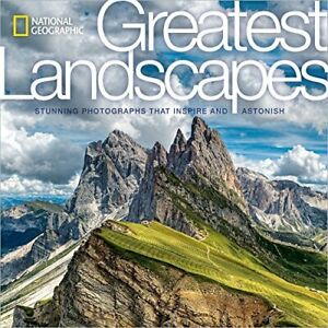National Geographic Greatest Landscapes: Stunning Photographs New Hardcover Book