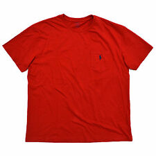 Polo Ralph Lauren Mens T Shirt Pony Logo Crew Neck Pocket Xs S M L Xl Xxl Nwt