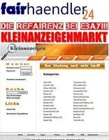 KLEINANZEIGENMARKT - Handel Händler Portal BANNERWERBUNG Links Suche PayPal Ebay
