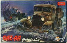 Toko 1:35 Gaz-AA Polutorka Russian Truck Plastic Model Kit #122U
