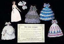 The Girls' Delight Paper Doll - No. 4 - Nellie - Clark, Austin & Smith 1858