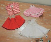 VINTAGE 1950's VOGUE DOLLS INC DOLL CLOTHING IDEAL SHIRLEY TEMPLE DRESS SHIRT #4