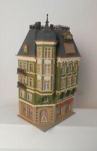 Vintage Vollmer HO 3771 City Corner House Building Glue Stains