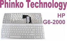 NEW For Original HP Pavilion G6 G6-2000 Laptop series Keyboard US White + FRAME