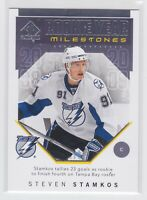18/19 SP AUTHENTIC...STEVEN STAMKOS..ROOKIE YEAR MILESTONES..# RYM-SS..LIGHTNING