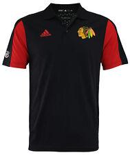 Adidas NHL Men's Chicago Blackhawks 2017 Authentic Game Day Polo Shirt