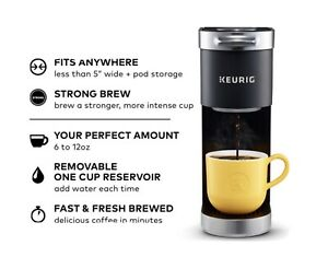 Keurig K-Mini Plus Single Serve Coffee Maker - Matte Black