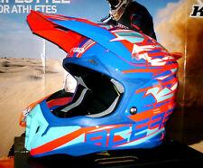 ACERBIS IMPACT 3.0 Cross Helm Enduro MTB NEU Quad L Honda CR-F Thor Yamaha Blau