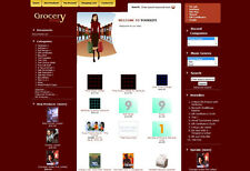Grocery Store Complete Ready Made Shopping Cart Website For Sale