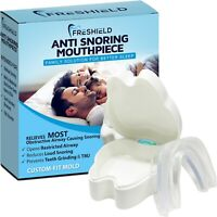 Stop Snoring Mouthpiece Guard Anti Snore Sleep Apnea Bruxism Aid Teeth Grinding