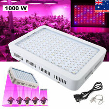 1000w LED Grow Light Hydro Medical Plants Veg Bloom Frui Full Spectrum Bulb Kit