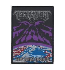 "Testament ""The New Order"" Patch metallica-exodus-megadeth-death angel-overkill"