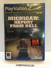 MICHIGAN REPORT FROM HELL - SONY PS2 PLAYSTATION 2 - NEW PAL VERSION - RARE