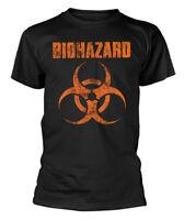 Biohazard' LOGO 'T-SHIRT - NUOVO E ORIGINALE