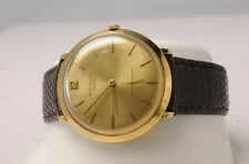 Mens Patek Philippe 18K Yellow Gold Model 2572 Dress Wrist Watch