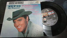 ELVIS PRESLEY RCA VICTOR 33 RPM & PICTURE SLEEVE FLAMING STAR LPC-128