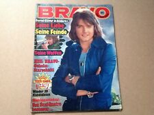 BRAVO #10 February 1975 GERMAN MAGAZINE. BERND GLUVER, ALVIN STARDUST, BARRY WHI