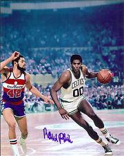 Boston Celtics Robert Parish  autographed 8x10 great Action photo at Garden